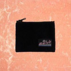 FLEECE CARD POCKET BLACK