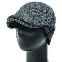 [더그레이]JH05C.귀달이 니트 골프 헌팅캡 남성 모자