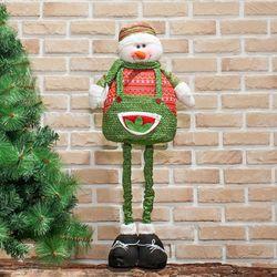 (9309070) 120cm 장식용 키높이 비즈 눈사람