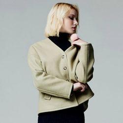 [MAYCATS]Wool Short Jacket