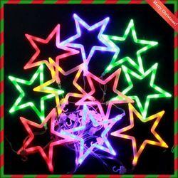 (9311310) 150구 투명선 LED 화이트별 칼라전구(2.7M)
