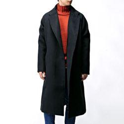 [매트블랙] 벤젠 나그랑 로브 코트