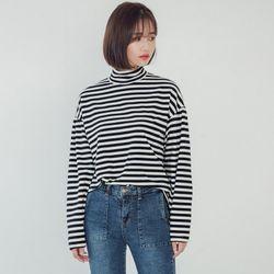 [로코식스] kaboo stripe T티셔츠