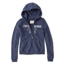 아베크롬비 여성 후드집업 628175691 라벤더 블루