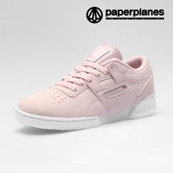 [페이퍼플레인] 신상 남녀공용 스니커즈 PP1453 핑크