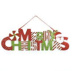 반짝이글자 크리스마스 트리 장식 소품 인테리어