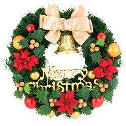 넝쿨눈사람리스  크리스마스꾸미기 장식소품