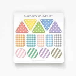 마카롱 마그넷 세트