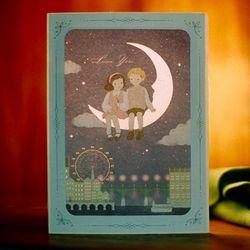 DEARMOMENT CARD moonriver