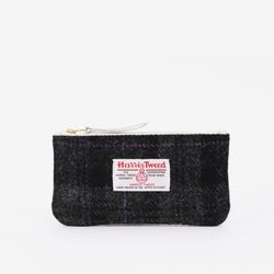 BILL POUCH X HARRIS TWEED Black
