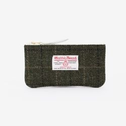 [1300K단독할인/~12/22까지] BILL POUCH X HARRIS TWEED Khaki
