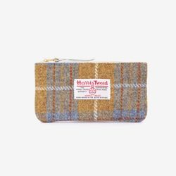 [1300K단독할인/~12/22까지] BILL POUCH X HARRIS TWEED Olive