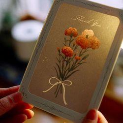 DEARMOMENT CARD carnation
