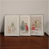 [1+1(랜덤증정)] DEARMOMENT CARD 크리스마스 카드 3종 Set 1