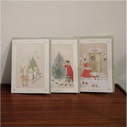 DEARMOMENT CARD 크리스마스 카드 3종 Set 1