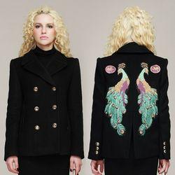 Peacock Half Coat