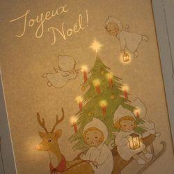 DEARMOMENT CARD 크리스마스 카드 sleigh ride