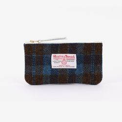 [1300K단독할인/~12/22까지] BILL POUCH X HARRIS TWEED Navy