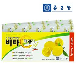 [종근당] 비타C 패밀리 레몬맛 (1.6g x 100정)