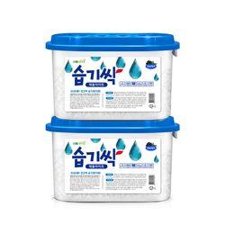 습기싹 습기제거제 (370gx2개)탈취 방습 옷장 제습제
