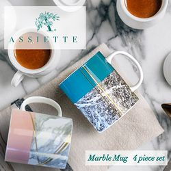 ASSIETTE 마블머그 2p 세트