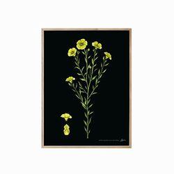 식물도감 - 꽃02 원목액자(16R)
