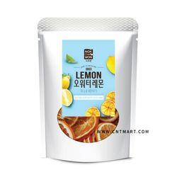 녹차원 오워터 건조과일 레몬 50g