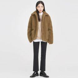 love you bear fur jacket