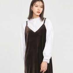 wave style lace blouse