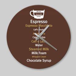 [디자인 시계]모던 커피 02
