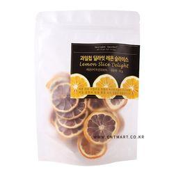 딜라잇가든 저온건조 과일칩 레몬 슬라이스 50g