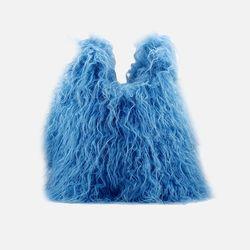 [퍼 파우치 증정] MONSTER FUR [ Sash - AIRY BLUE ]