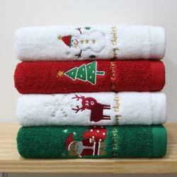 기라로쉬 메리크리스마스 타올 4매 선물세트