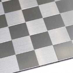 점착식 알미늄 메탈타일 바둑사각50mm (HMT99301)