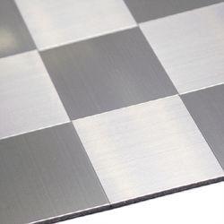 점착식 알미늄 메탈타일 바둑사각100mm (HMT99302)