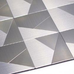 점착식 알미늄메탈타일 모자이크사각100mm (HMT99303)
