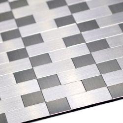 점착식 알미늄 메탈타일 2톤사각 (HMT99305)