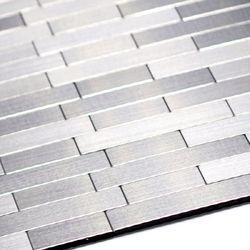 점착식 알미늄 메탈타일 사각바15mm (HMT99306)