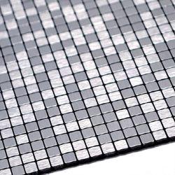 점착식 알미늄 메탈타일 바둑사각10mm (HMT99307)