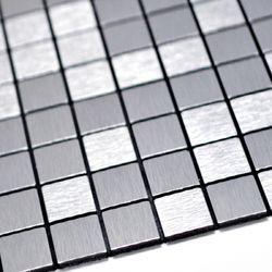 점착식 알미늄 메탈타일 바둑사각 25mm (HMT99310)