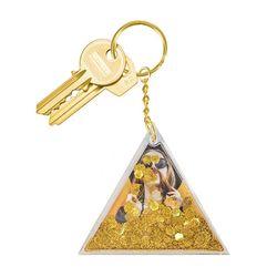 [도이] 아쿠아 골드 열쇠고리 자동차 키링
