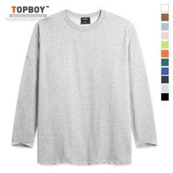 [탑보이] 하루하루 옆트임오버핏 긴팔티셔츠 (RM080)