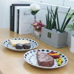 일본 메르디앙 접시 대 2P세트