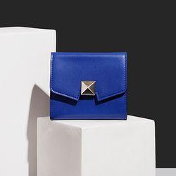 Cube Box Wallet - Blue