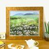 거실그림  유화그림 풍경화 풍수지리그림 고향의 들꽃