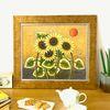 돈들어오는그림 인테리어액자 황금 태양 해바라기그림