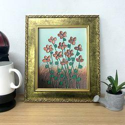 복을부르는그림 그림선물 유화그림 예쁜그림 꽃의향연