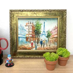 그림선물 유화그림 예쁜그림 화가그림 에펠탑 풍경화
