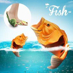 [페이퍼플레인] 남녀공용 슬리퍼 물고기슬리퍼