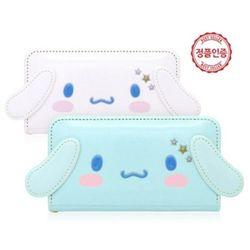 [Sanrio]시나모롤 페이스 플립 케이스.삼성폰